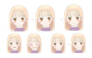 [微笑,哭泣,愤怒的脸] 绘制面部表情的关键以及如何区分面部表情