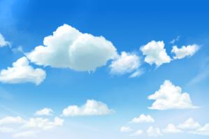 我们来试着画云彩(2)【云笔的类型和特点】
