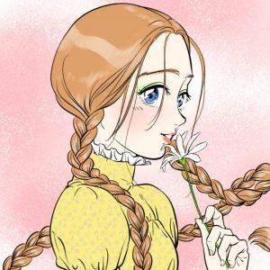 How to draw braids